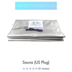 5 Star Sweat & Glow Sauna Blanket